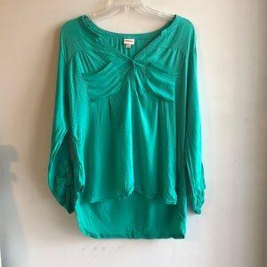 Merona Green Women's Blouse